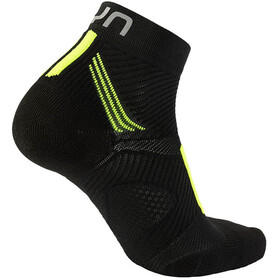 UYN Run Marathon Zero Socks Men Black/Yellow Fluo